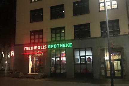 Donnerstag 19.12.2019 – Medipolis Apotheke im Eulenhaus (Schillerstraße 1)